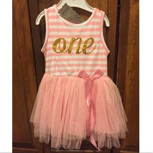 Other - Toddler girl's First Birthday Dress